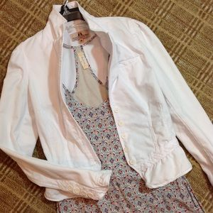Juicy Couture Jeans White Jacket M